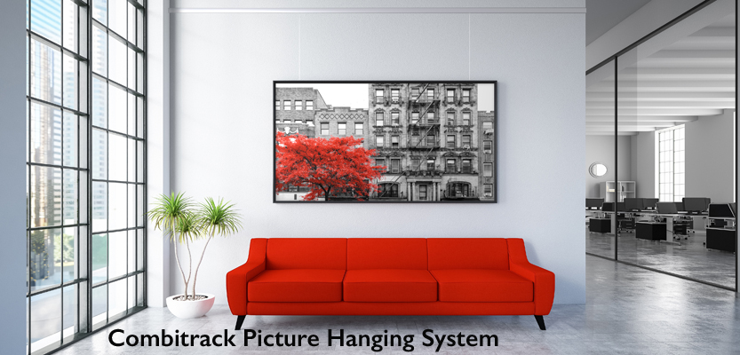 Combitrack Picture Hanging Rail System
