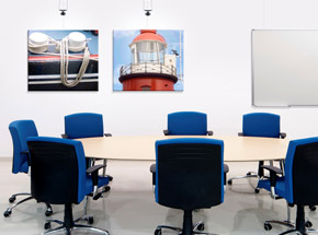 Picture Hanging Systems - Offices and Conference Rooms