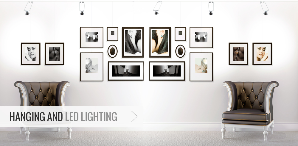 Hanging and Led Lighting - Picture Hanging